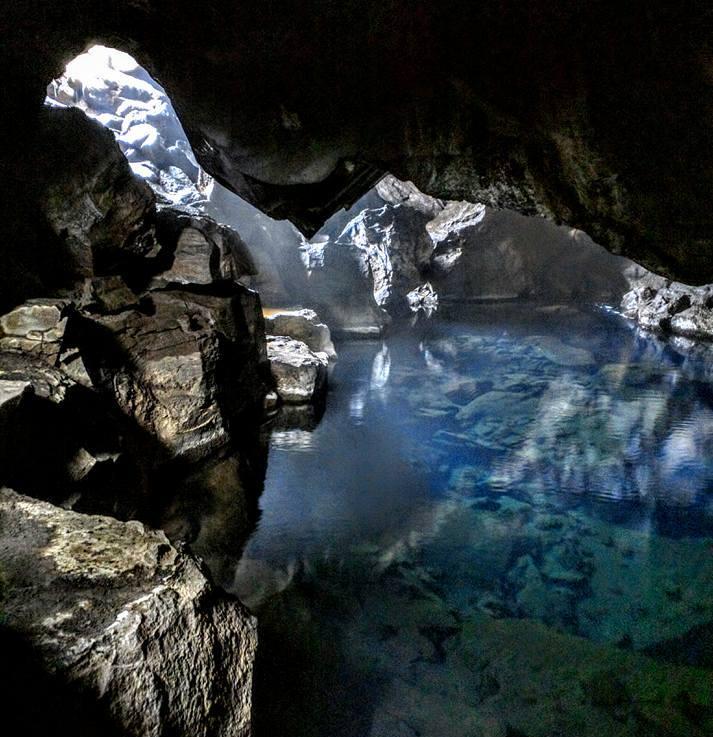 If you like hot springs and caves, Iceland's Grjótagjá isparadise